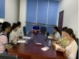 大邑县质控中心专家对我院护理、院感工作进行督查