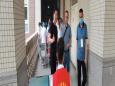 县卫健局局长邹涛到我院新冠疫苗接种点文轩职业技术学院督导新冠疫苗接种工作