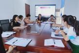 大邑县妇幼保健院护理部第二季度 护理质量委员与护士长会